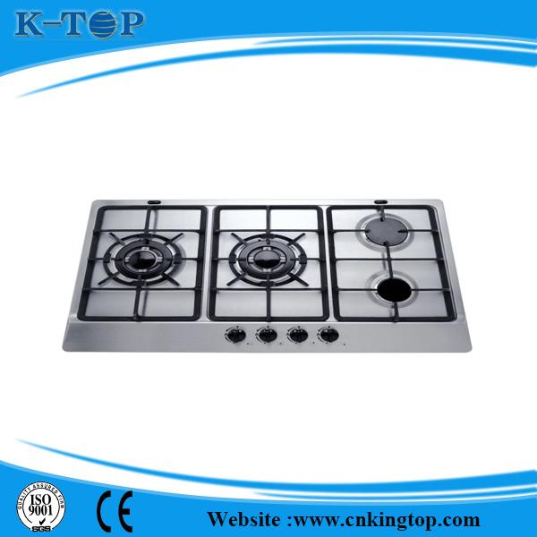 Best Quality Built-in 5 Burner S/S Gas Hob, Gas Cooker