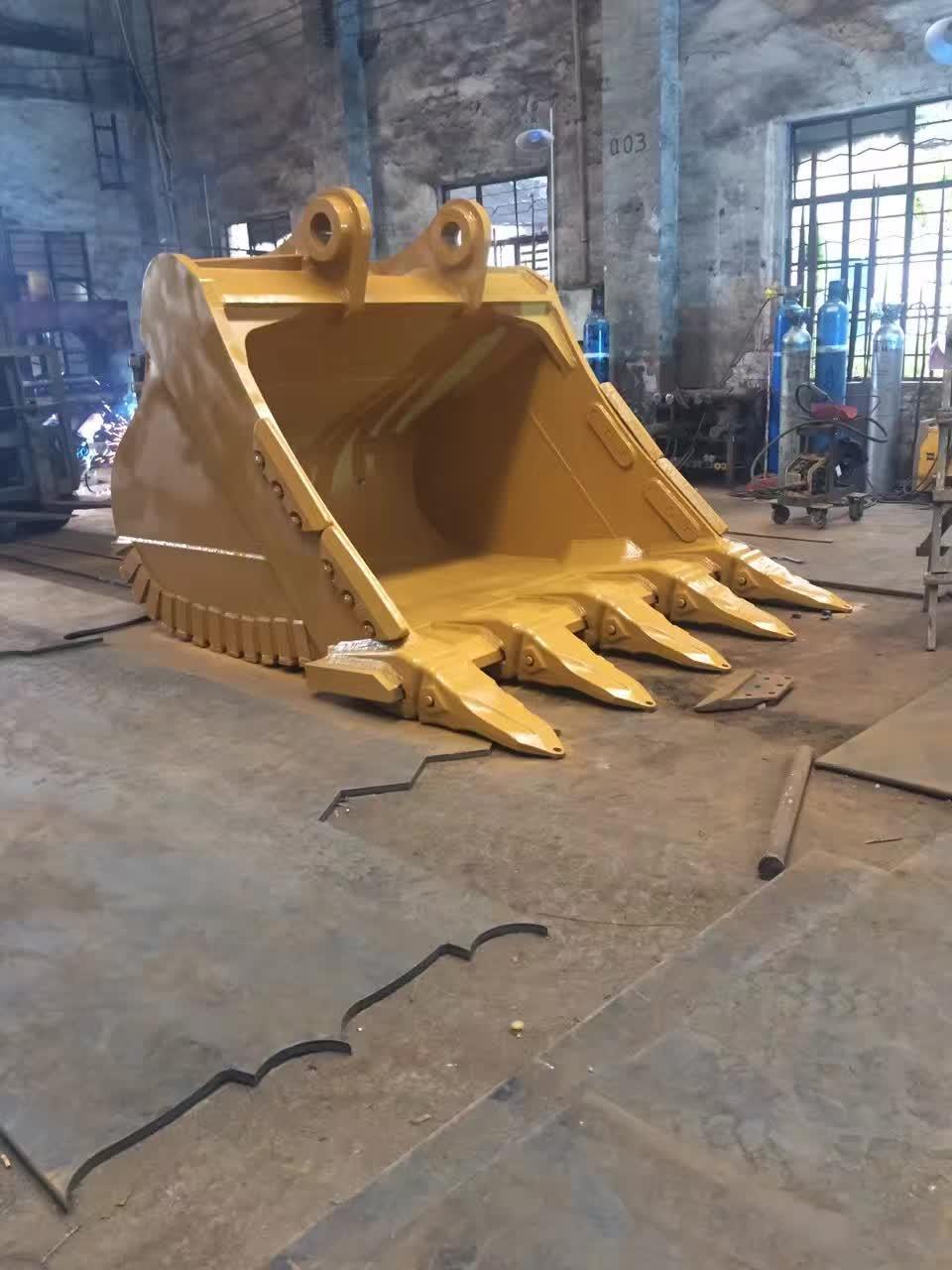 20 Ton Construction Machinery Excavator Rock Bucket Heavy Duty Bucket