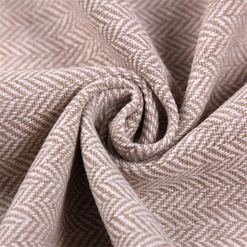 Herringbone Tweed Fabric, Textile Fabric, Garment Fabric
