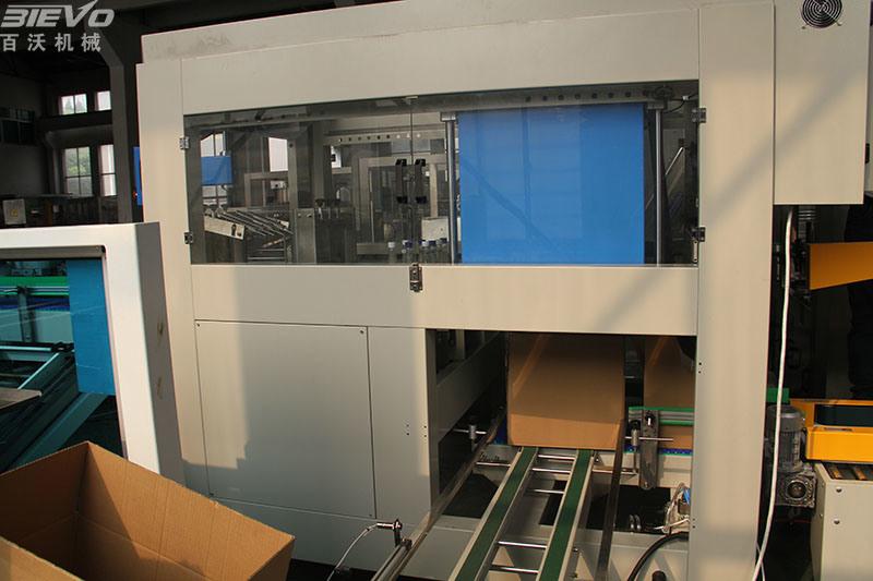 Carton Box Case Folding Machine for American Customer