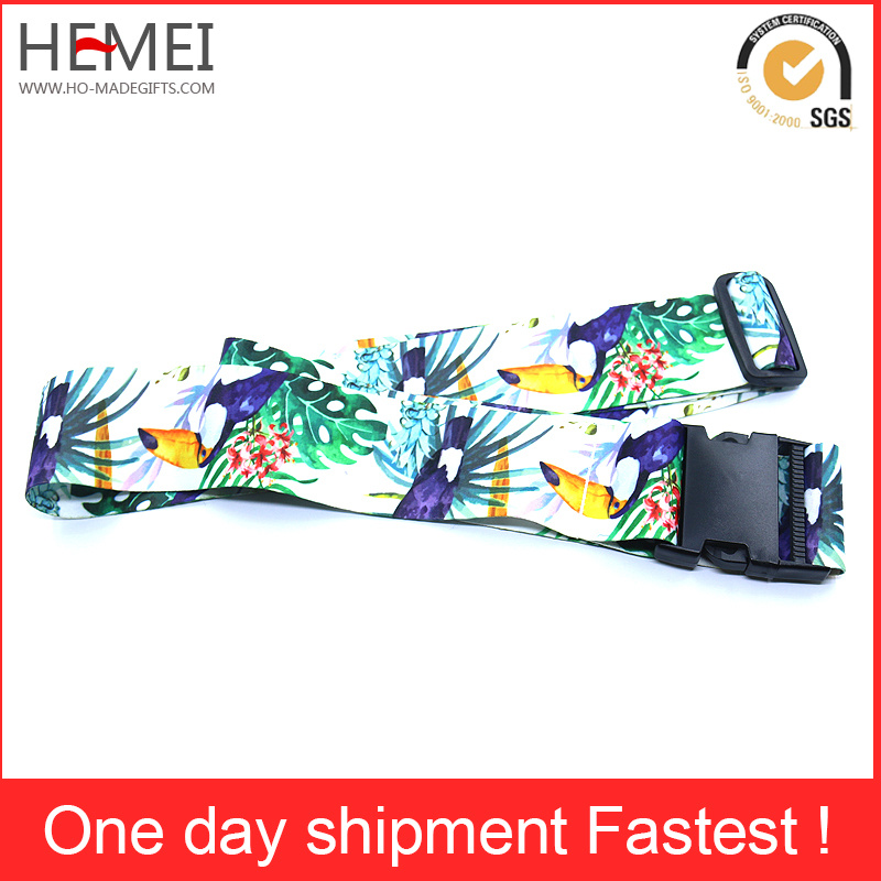 Wholesale Durable Adjustable Belt for Luggage Plastic Buckle Strap