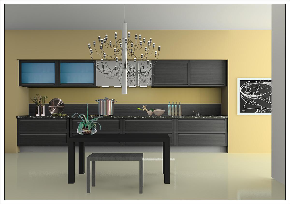Foshan Factory Modern Kitchen Furniture