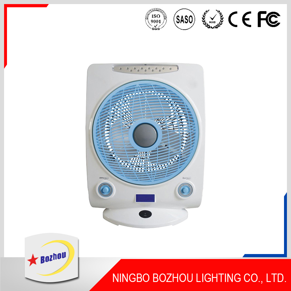 14 Inches AC & DC Rechargeable Fan with Remote Controller