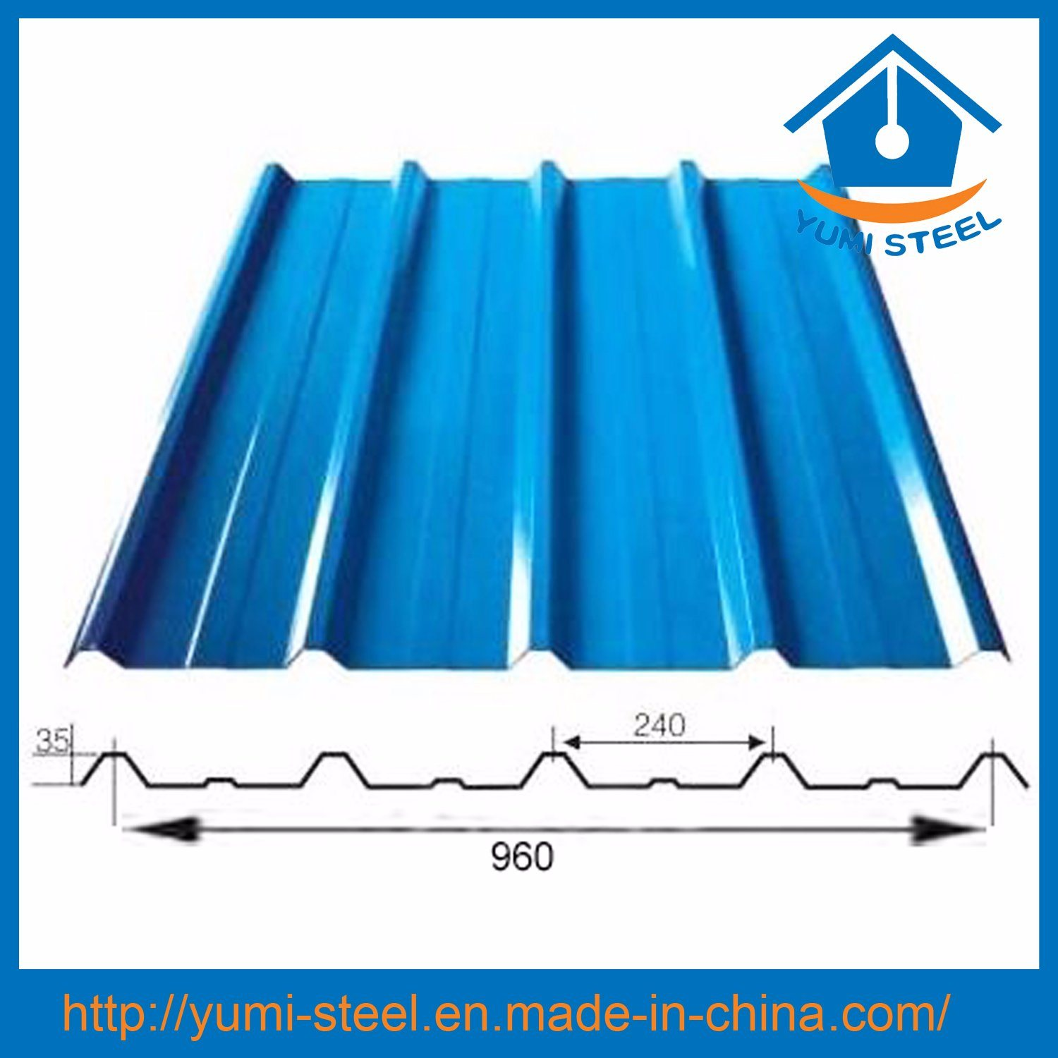 China Color Corrugated Galvanized Steel Wall/Roofing Metal Sheets   China  Cladding Sheets, Exterior Cladding