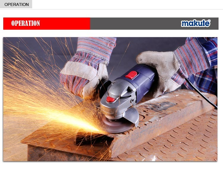 Best Price Makute Angle Grinder Power Tools with Big Power (AG007)