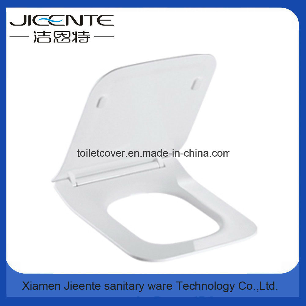 Square Urea Toilet Seat Cover in Slimed Line