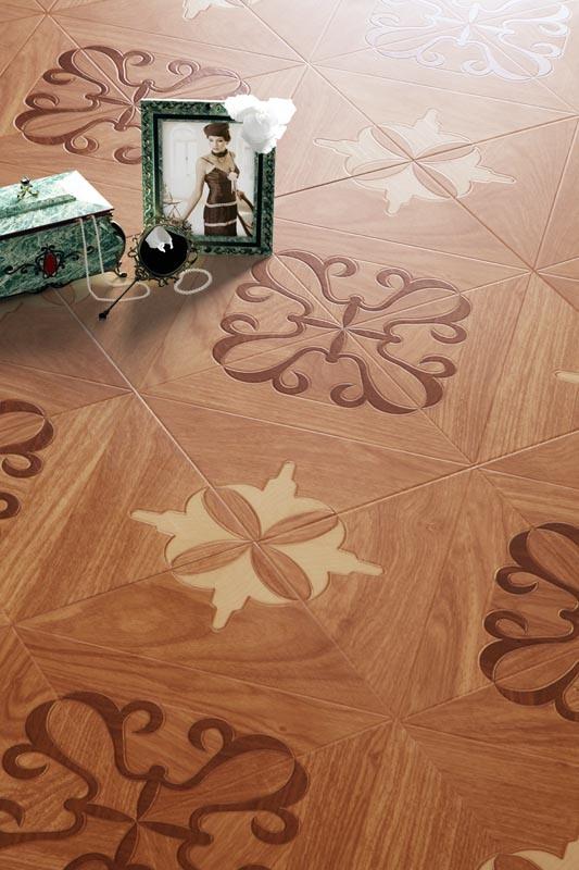 HDF Material Art Parquet Laminate Flooring