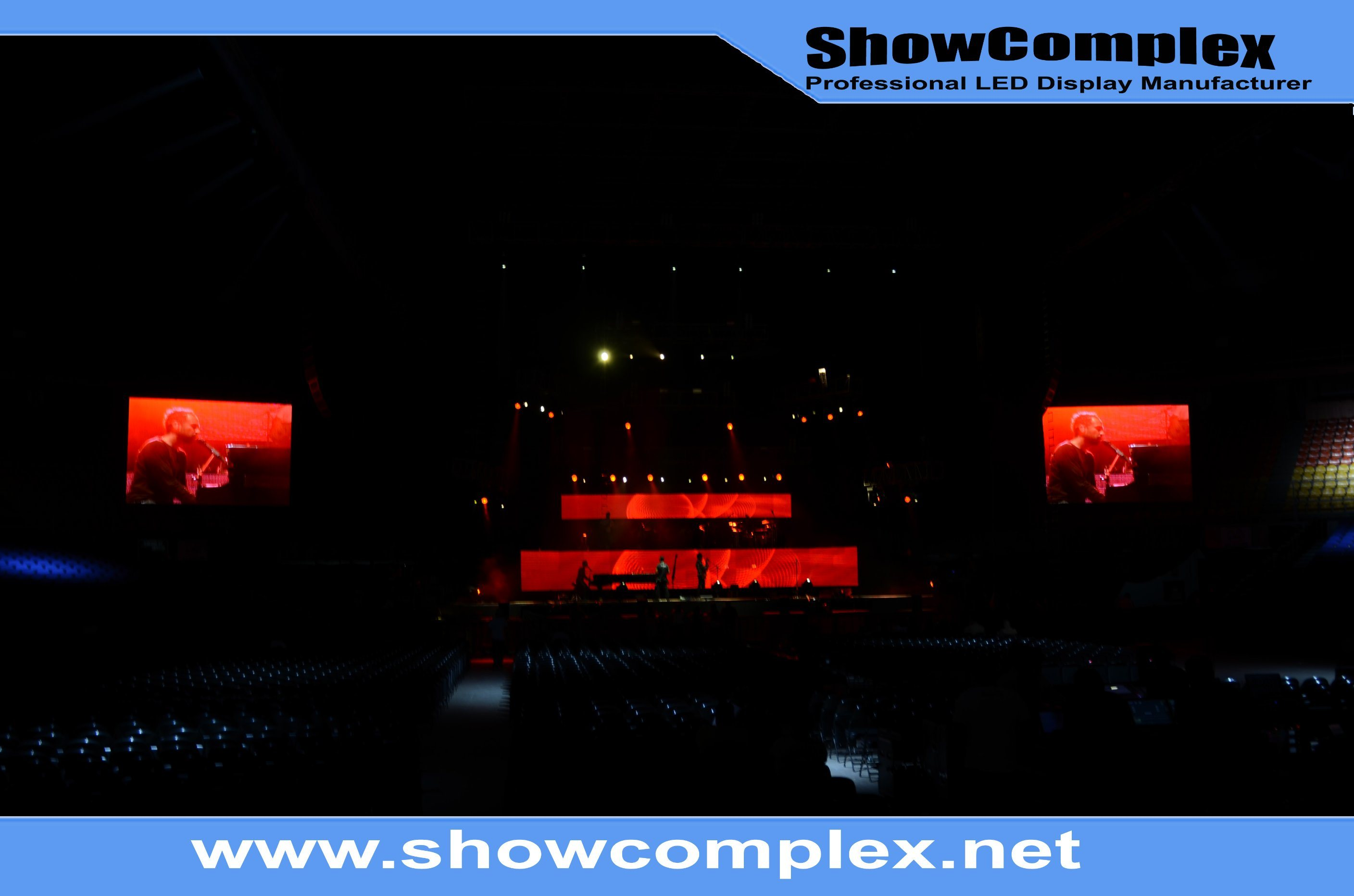 Indoor Full Color Rental LED Display Screen for Conference (pH3)