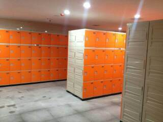 ABS Plastic Waterproof Locker Storage for Beach
