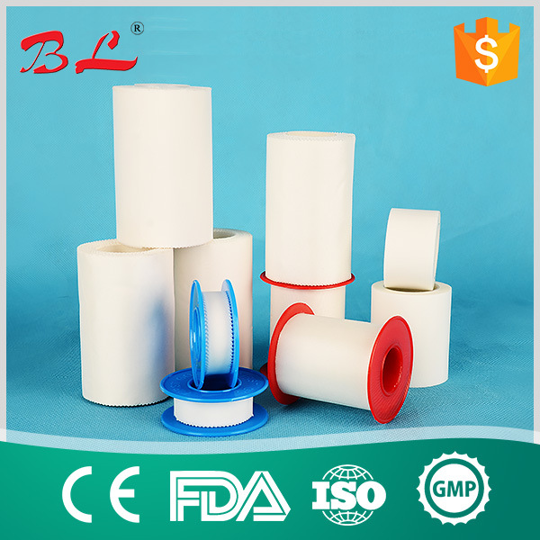 Manufacturer Ce ISO Approved Comfortable Zinc Oxide Plaster/Zinc Oxide Adhesire Plasters