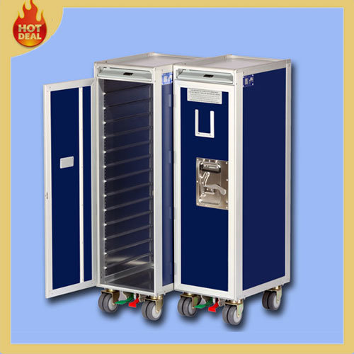 Aircraft Aviation Service Meal Trolley for Airline