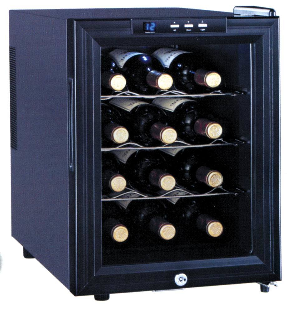 China Jc 33a Electronic Red Wine Cooler Refrigerator