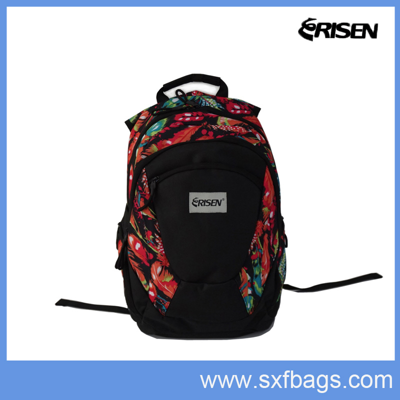 Fashion Colourful Backpack Bag for School, Laptop, Hiking, Travel