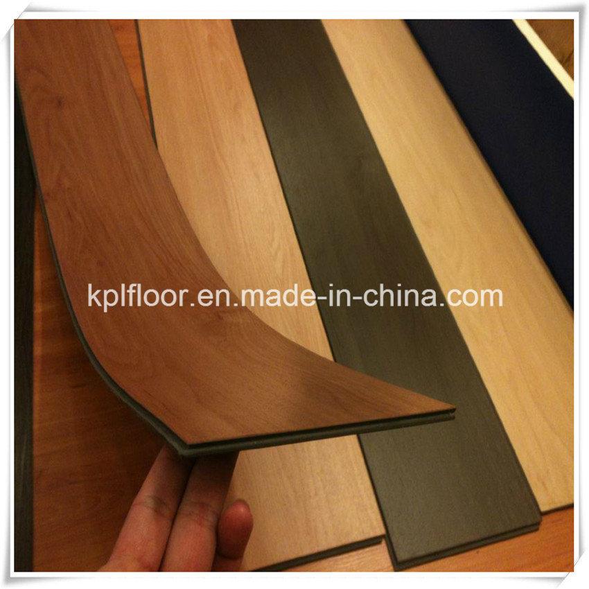 UV Coating Wood PVC Vinyl Floor Tile PVC Unilin Lvt Click Flooring