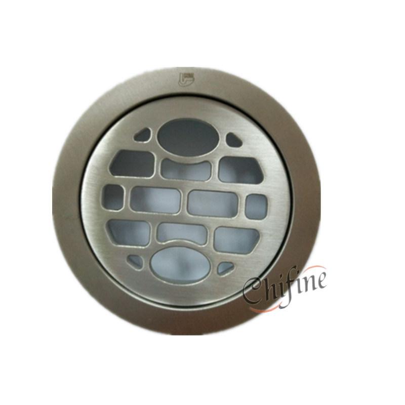 Kitchen Bathroom Shower Staitary Steel Round Floor Drain