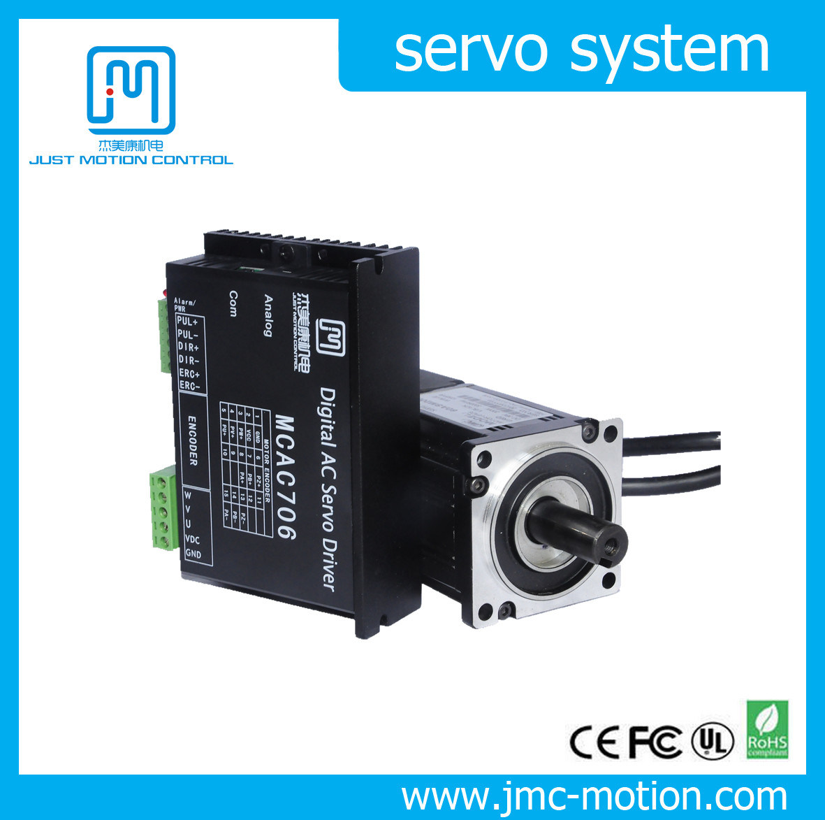 400W All Digital AC Servo Motor and Driver Kit