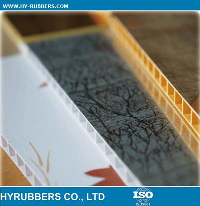Laminated Wood Colour PVC Panels