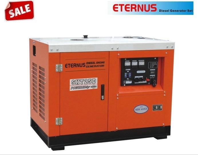 12kw Water Cooling High Speed Diesel Generator (SHT25D)