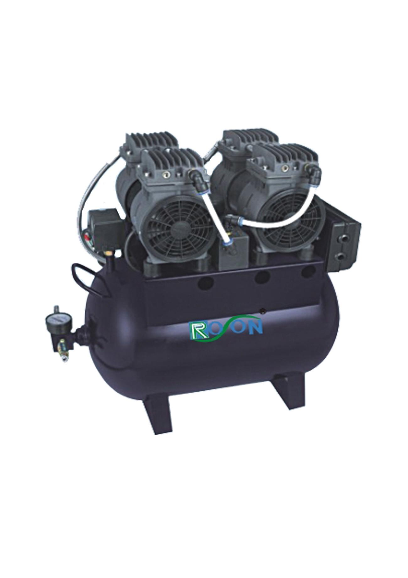 Compresor de aire dental silencioso de oilless compresor for Compresor de aire silencioso