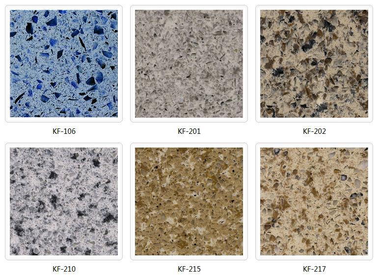 blue Galaxy Hot Selling Quartz Slab Engineered Stone