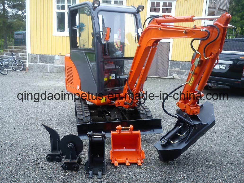 EPA&CE Approved Crawler Excavator
