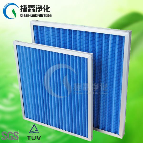 Aluminum Frame Synthetic Fiber Foldaway Panel Filter