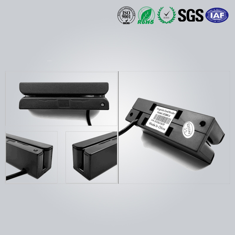 3 Track Programmable Magnetic Stripe Card Reader