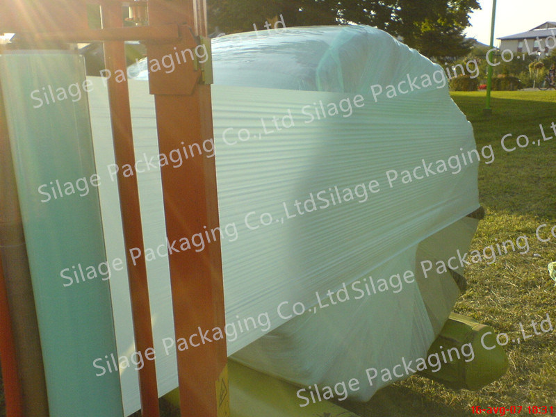 750mm Silage Wrap Bale Film with Characteristic of UV Resistant, Puncture Resistance