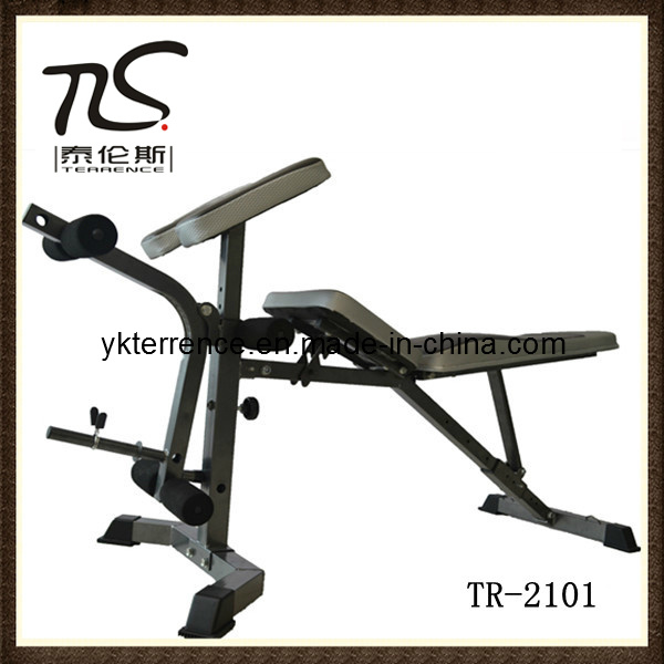 China Fold Up Weight Bench Fitness Gym Equipment Tr 2101 China Bench Weight Bench