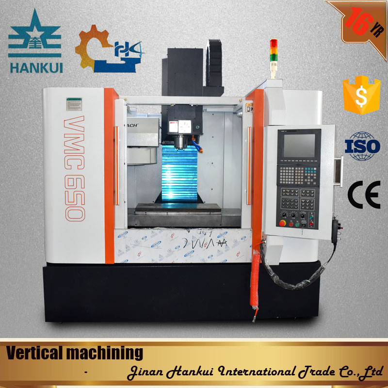 Vmc650L CNC Vertical Machine Center with ISO