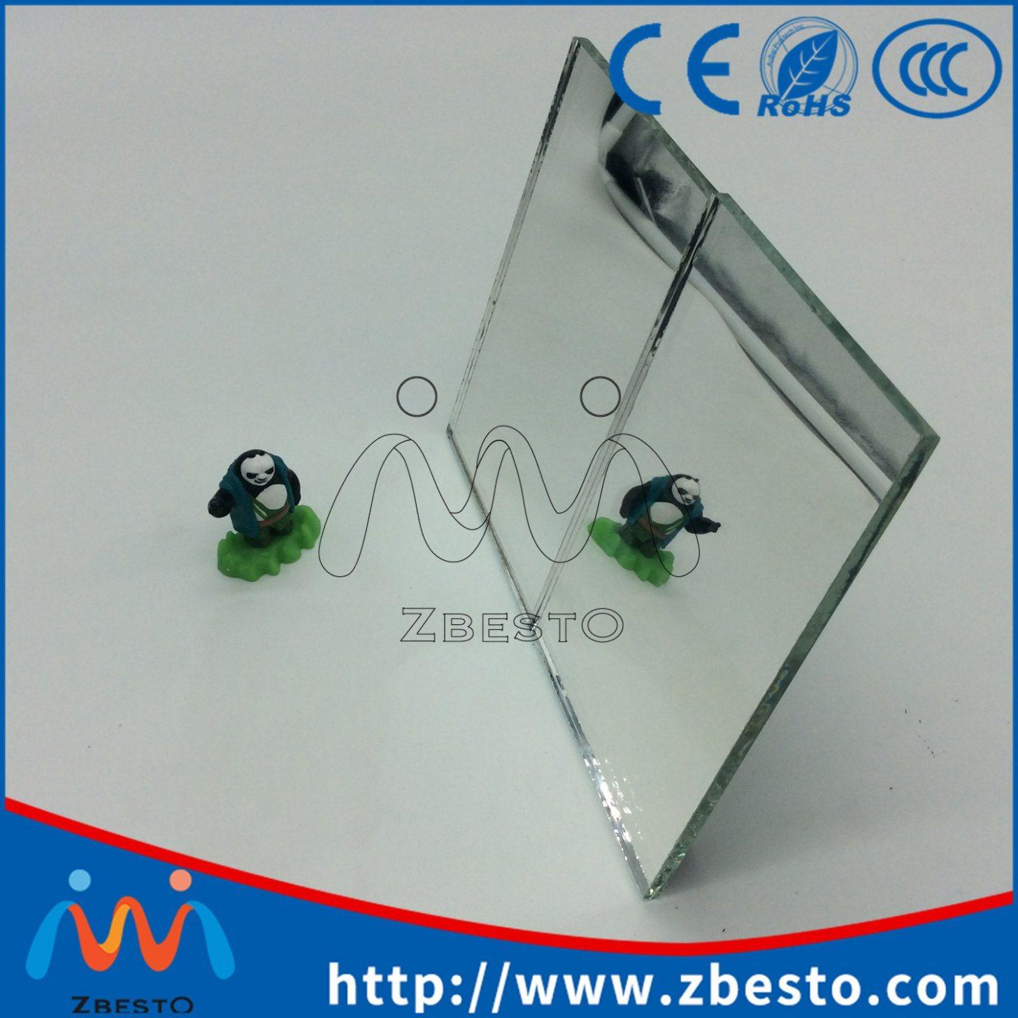 Frameless Cheap Float Glass Silver Aluminum Mirror Panels
