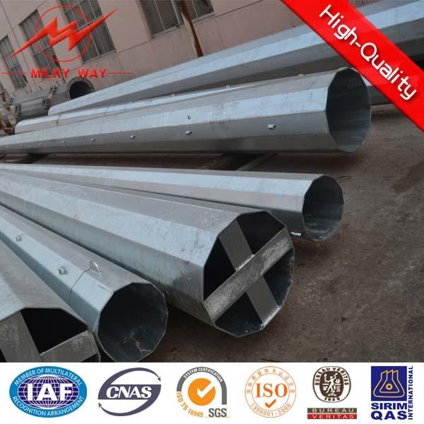 33kv Transmission Line Electrical Steel Pole