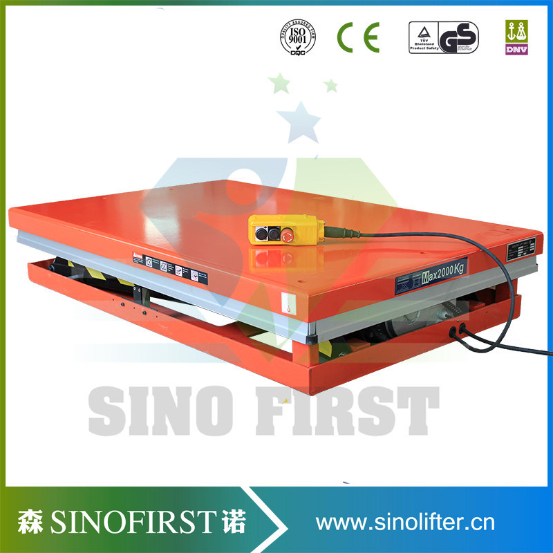 1ton to 5ton Fixed Moving Hydraulic Electric Scissor Lift