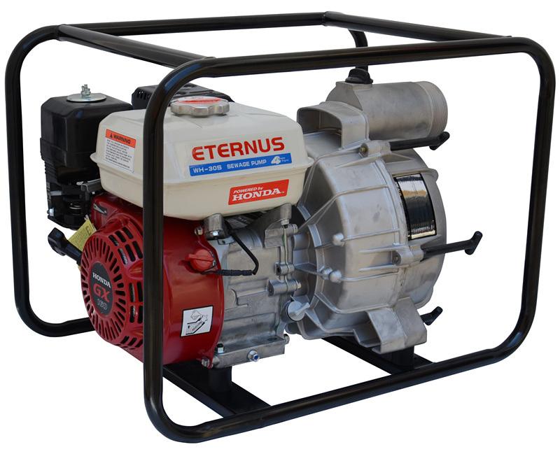 3 Inch Gasoline Honda Engine Sewage Pump Wl30b