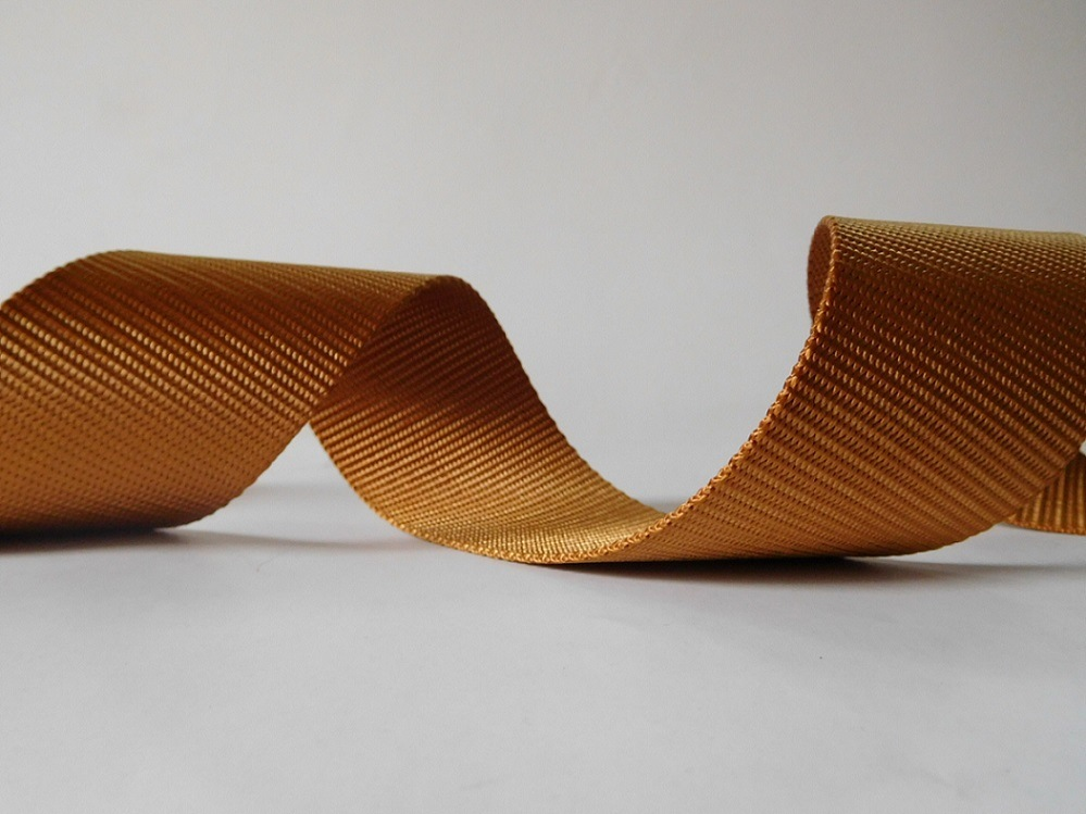50mm Brown Polyester Webbing for Car Safety Belt