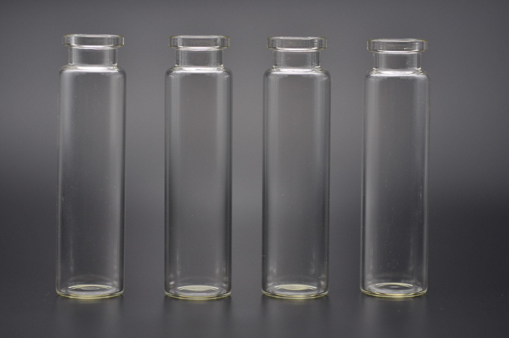 20ml Clear and Amber Tubular Glass Vials