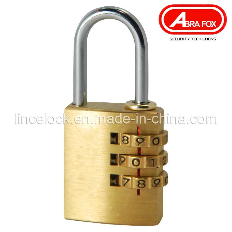 Brass Combination Padlock -Arc Type (506)