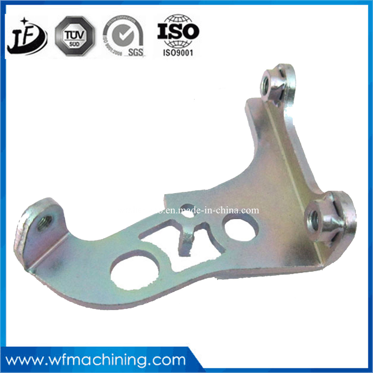 Customized Non-Standard Stamping Die Machinery Part of Sheet Metal Processing