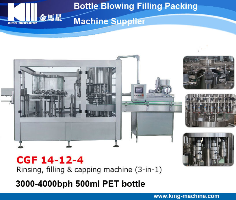 Automatic Plastic Bottle Water Packing Filling Bottling Machine