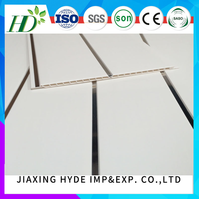 Construction Material PVC Ceiling Panel Wall Decoration Panel