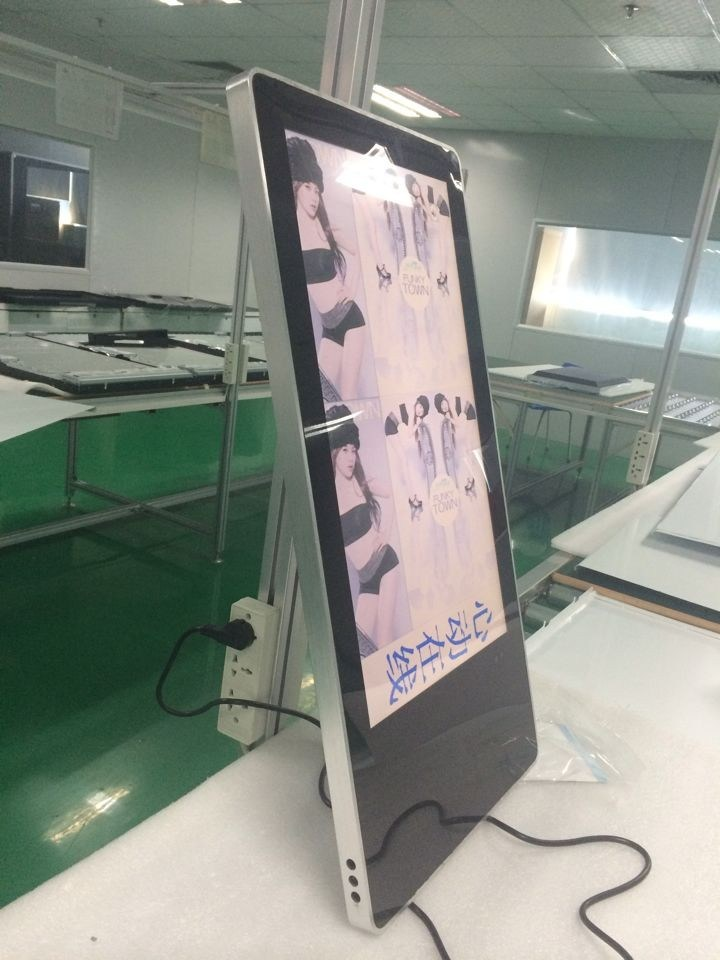 26inch Wireless WiFi LCD Advertisement Display