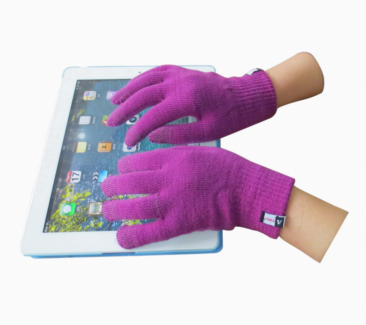 Five Finger Touch Screen Glove