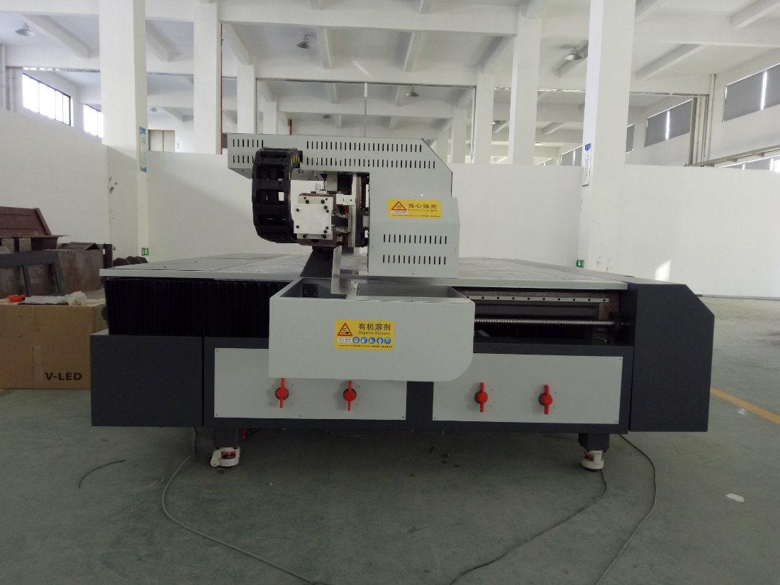 3D Picture Digital Inkjet UV LED Flatbed Printing Machine
