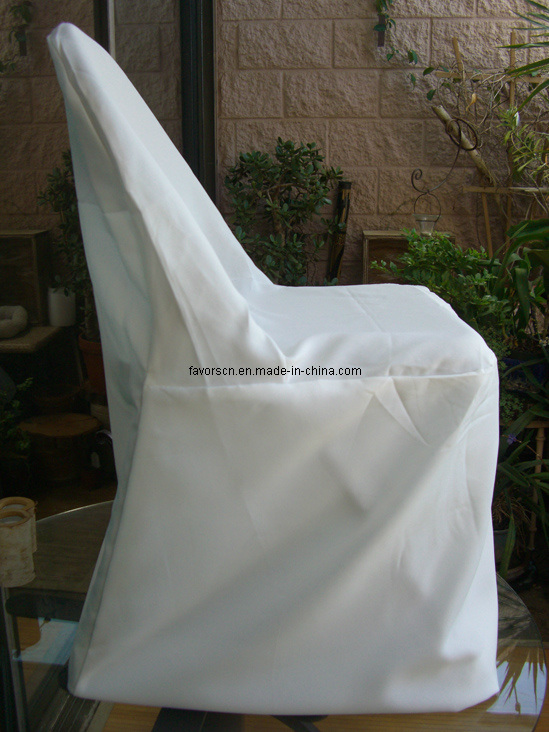 Wholesale Folding Chair Cover Ivory