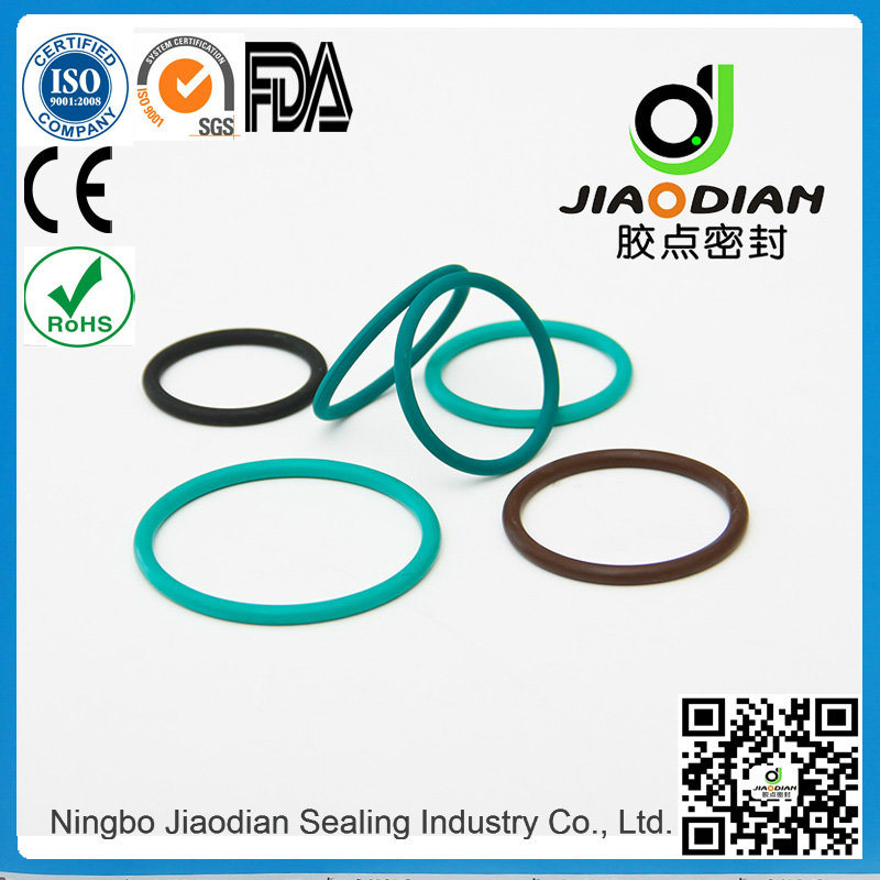 NBR O-Ring of Size Range as 568, JIS2401 on Short Lead Time with SGS CE RoHS FDA Cetified (O-RINGS-0095)