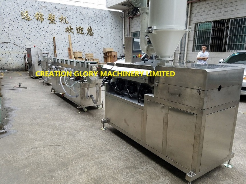 High Precision Double Lumen Tracheal Tubing Plastic Extrusion Machine