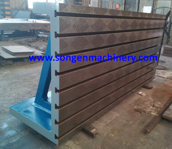 T-Slotted Cast Iron/Steel Angle Plates