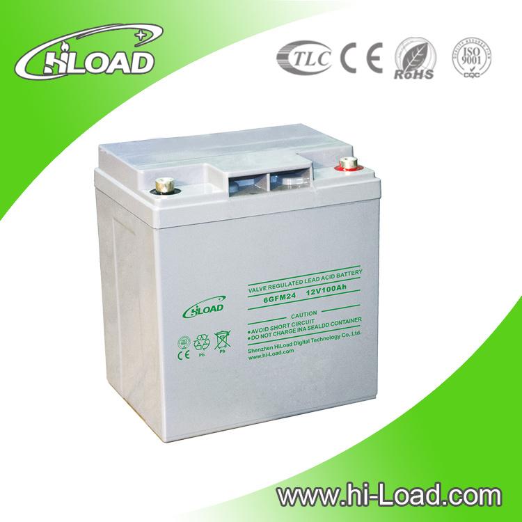 Long Serivce Life Valve Regulated Lead Acid Battery 12V 150ah