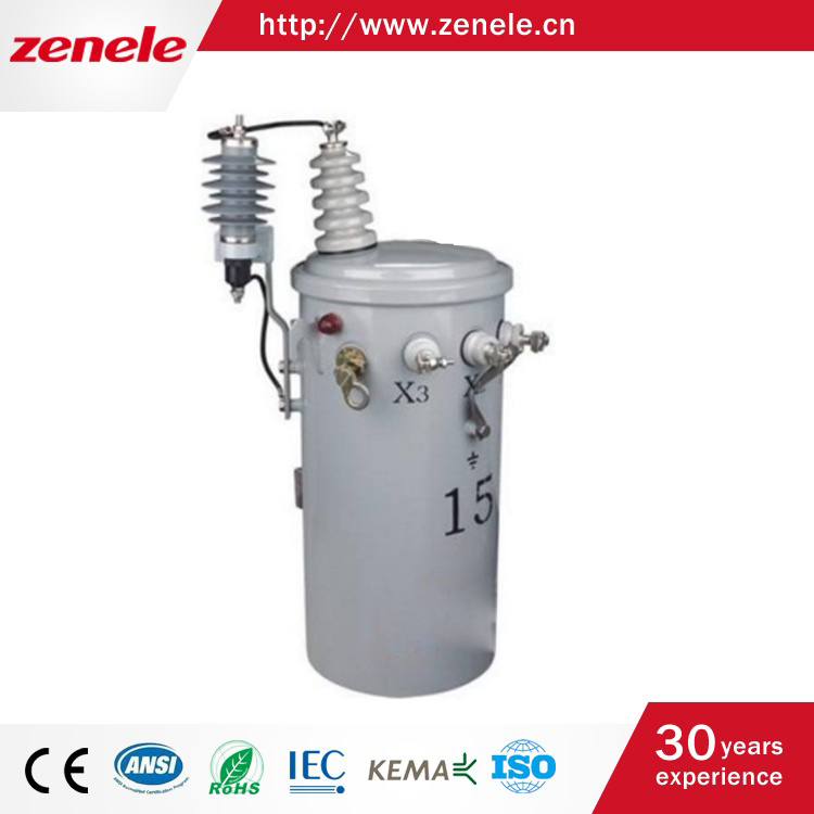 Single Phase Oil-Immersed Pole Mounted Transformer