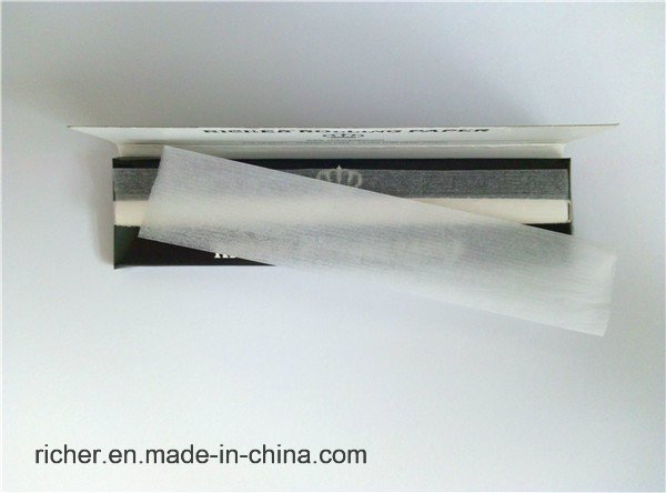 Slow Burnning King Size Slim Rolling Paper Made in China